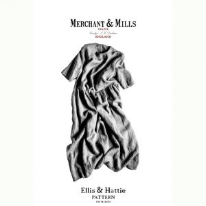 Holm Sown Online Fabric Shop | The Ellis and Hattie Dress by Merchant & Mills - pattern envelope