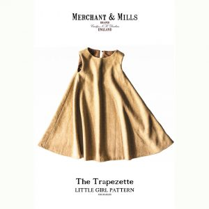 Holm Sown Online Fabric Shop | The Trapezette Dress by Merchant & Mills - pattern envelope