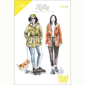 Closet Case Kelly Anorak // pattern envelope front // Holm Sown