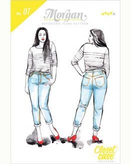 Closet Case Morgan Jeans // pattern envelope front // Holm Sown