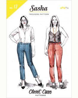 Closet Case Sasha Trousers // pattern envelope front // Holm Sown