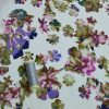 Holm Sown Online Fabric Shop - Purple Moss Cotton Lawn dressmaking fabric