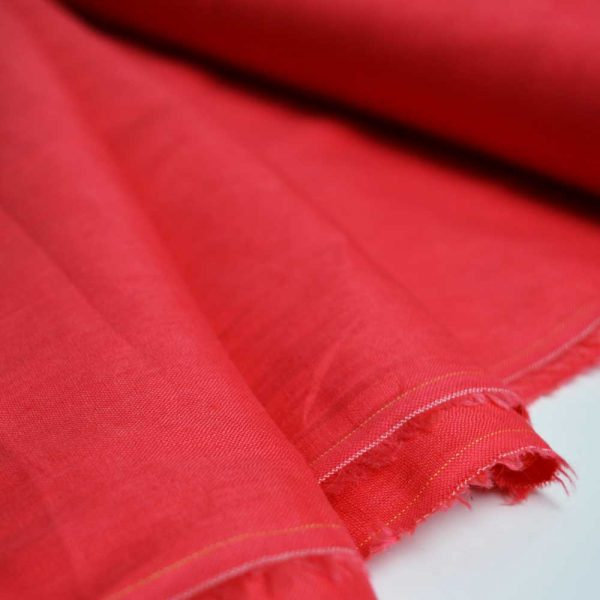 Holm Sown Online Fabric Shop - Sunset Beach Linen Viscose dressmaking fabric