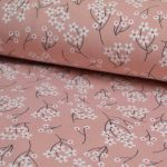 Holm Sown Online Fabric Shop - Modal Jersey Spring Flowers 4