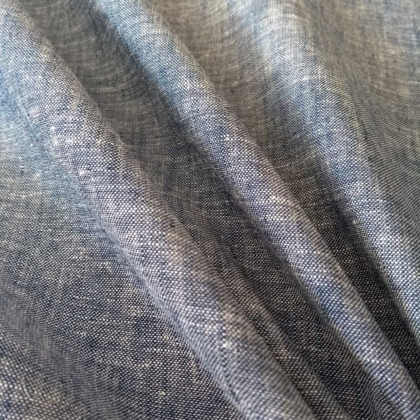 Holm Sown Online Fabric Shop - Linen Cotton Chambray dressmaking fabric
