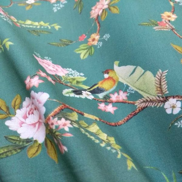 Holm Sown - Cotton Lawn - Meadow Melody Lady McElroy Fabrics