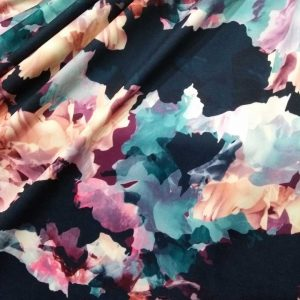 Holm Sown Online Fabric Shop Scuba - Vibrant Bursts Lady McElroy Fabrics