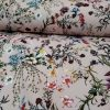 Holm Sown Online Fabric Shop - Lady McElroy Stretch Samba Crepe Meadow Heaven Blush Pink dressmaking fabric