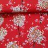Holm Sown Online Fabric Shop Viscose Crepe - Scarlet Allium Lady McElroy Fabrics