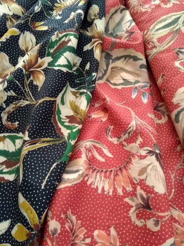 Holm Sown Online Fabric Shop - Lady McElroy Fabrics - Vingage Florals Cotton Lawn