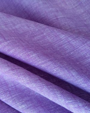 Holm Sown Online Fabric Shop - Purple Linen Chambray dressmaking fabric