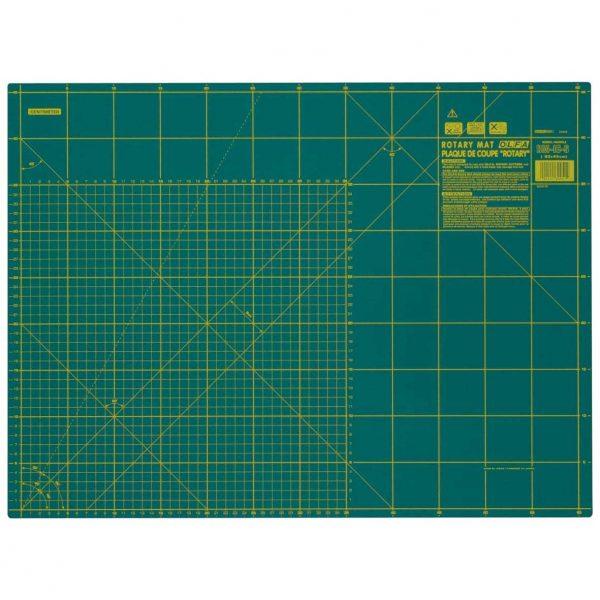 Holm Sown Online Fabric & Haberdashery Shop - Green Olfa Self Healing Rotary Cutting Mat A3