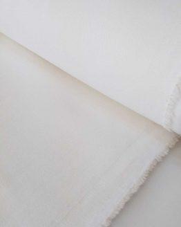 Holm Sown Online Fabric Shop - Stretch Denim White - dressmaking fabric