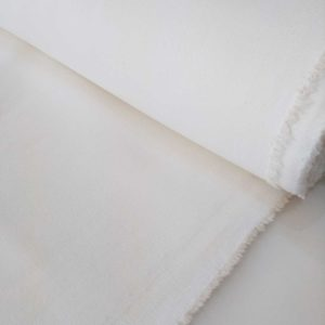 Holm Sown Online Fabric Shop - Stretch Denim White - dressmaking fabric