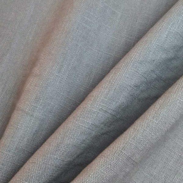 Holm Sown Online Fabric Shop   Washed Linen - Grey   dressmaking fabric