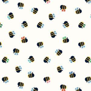 Holm Sown Online Fabric Shop - Dashwood Studio Eden Pop Bumblebees 1326