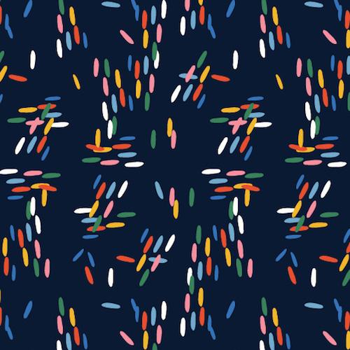 Holm Sown Online Fabric Shop - Dashwood Studio Eden Pop Dashes 1324