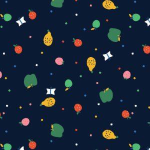 Holm Sown Online Fabric Shop - Dashwood Studio Eden Pop Fruits 1329