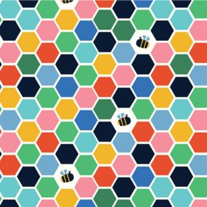 Holm Sown Online Fabric Shop - Dashwood Studio Eden Pop Honeycomb 1330