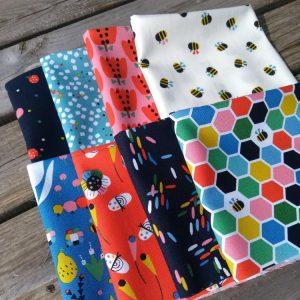 Holm Sown Online Fabric Shop - Dashwood Studio Eden Pop by Jilly P