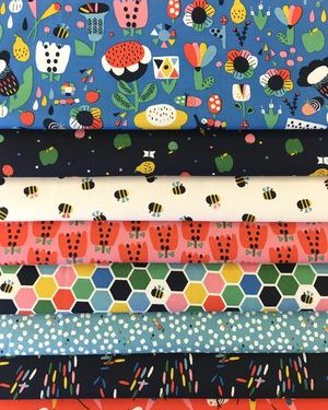 Holm Sown Online Fabric Shop - Dashwood Studio Eden Pop by Jilly P
