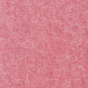 Holm Sown Online Fabric Shop - Robert Kaufman Essex Yarn Dyed Linen - Red | cotton linen mix fabric