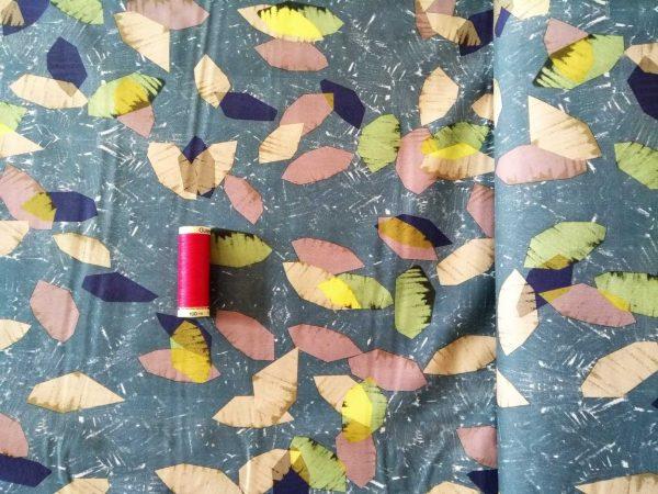 Holm Sown Online Fabric Shop Cotton Lawn - Lorenzo Mink Lady McElroy Fabrics