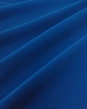 Holm Sown Online Fabric Shop - Luxury Peachskin Crepe Royal Blue - Dressmaking Fabric