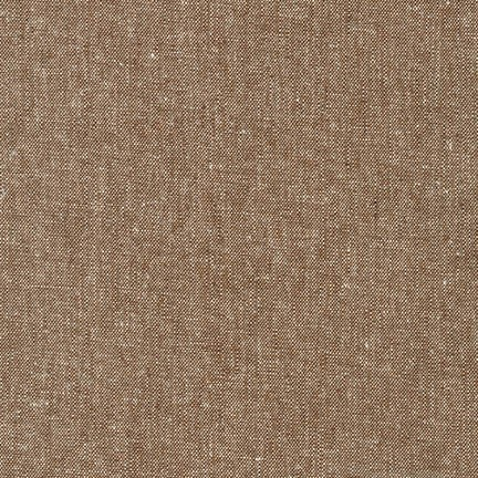 Holm Sown Online Fabric Shop - Robert Kaufman Essex Yarn Dyed Nutmeg E064-1255