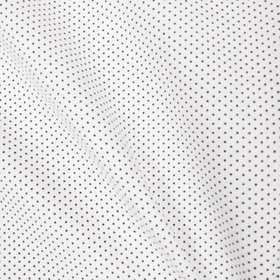 Holm Sown Online Fabric Shop - Sevenberry Japanese Cotton - Petite Basics Mini Spot Marine Blue 88190D1-40