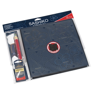 Holm Sown Online Fabric & Haberdashery Shop - Sew Easy Sashiko Starter Kit ERS.001